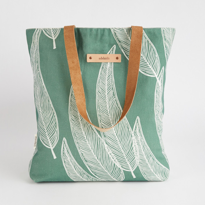 Sketched Willow Snap Tote