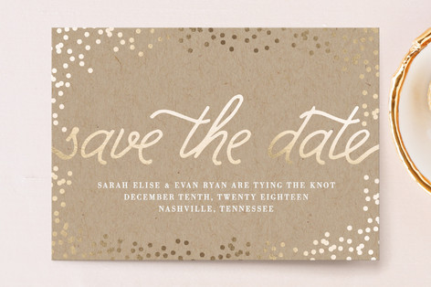 Starlight Save The Date Postcards