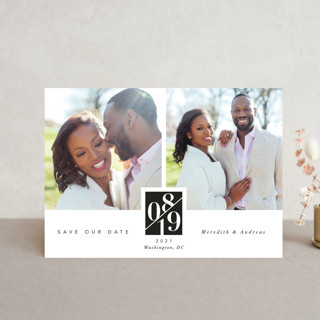 classic love story Save The Date Postcards