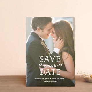 XOXO Save The Date Postcards