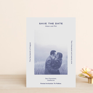 Flyer Save The Date Postcards