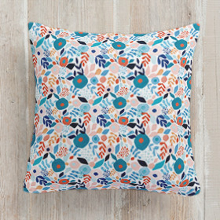 Abstract Bouquet Square Pillows