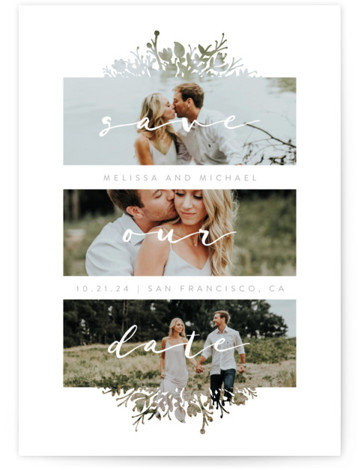 Whispers Save The Date Cards