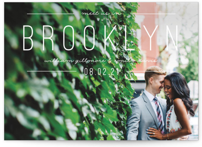 Meet Us Save The Date Cards