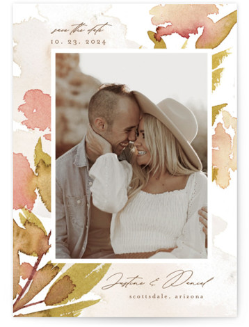 Impressions of Love Save The Date Cards