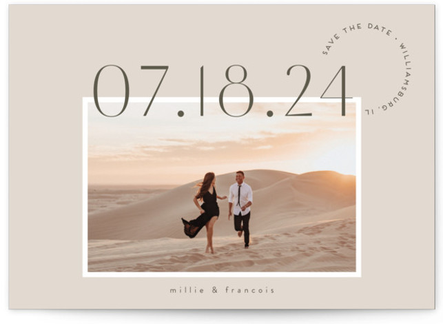 verines Save The Date Cards