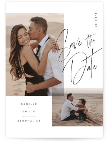 Flirt Save The Date Cards