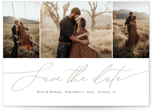Chantilly Save The Date Cards