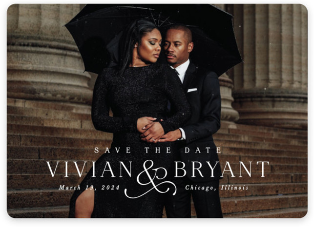 And here we are Save The Date Cards