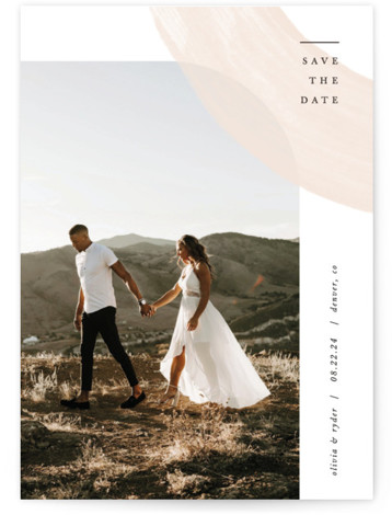 Glimpse Save The Date Cards