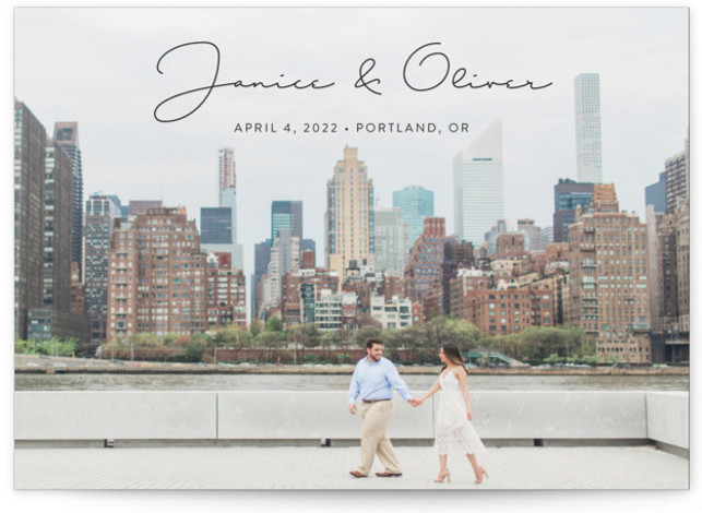 Breezy Save The Date Cards