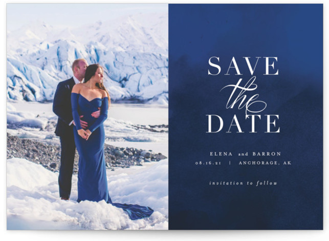Velvet Save The Date Cards