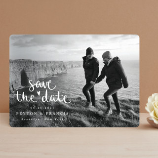 Lovely couple Save The Date Cards