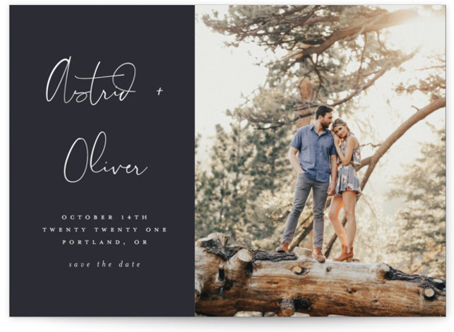 Modern Love Save The Date Cards