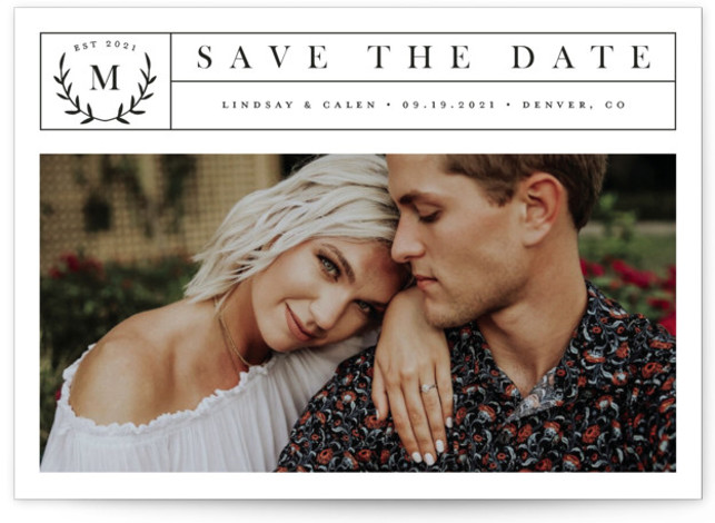 Inaugural Save The Date Cards