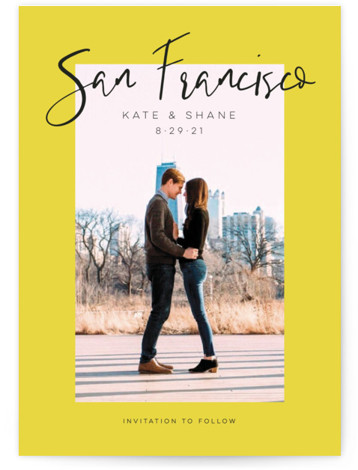 City Love Save The Date Cards