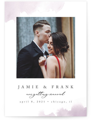 Chic Love Save The Date Cards