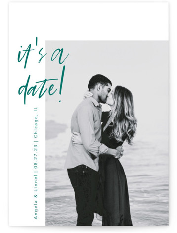 A Date Save The Date Cards