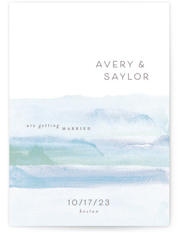 Float Save The Date Cards