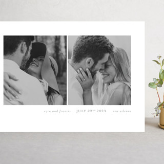 Simply bliss Grand Save The Date Cards