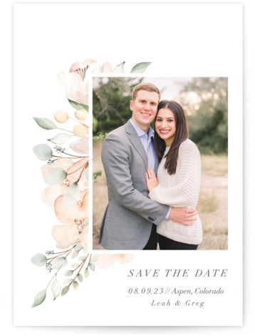 Gentile Grand Save the Date Cards