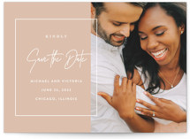 Eloquent Grand Save The Date Cards
