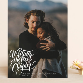 The Next Chapter Grand Save The Date Cards