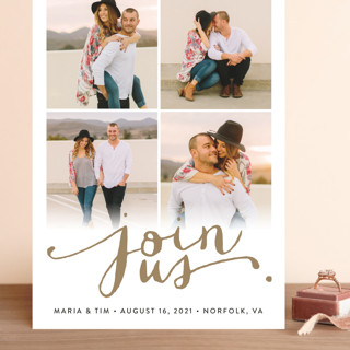 Jotted Grand Save The Date Cards