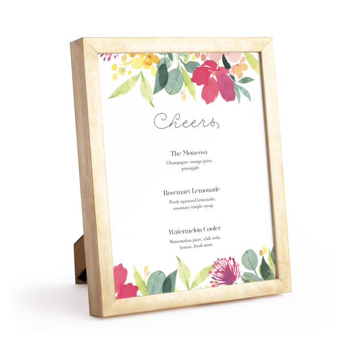 Gold 8x10 Standing Frame