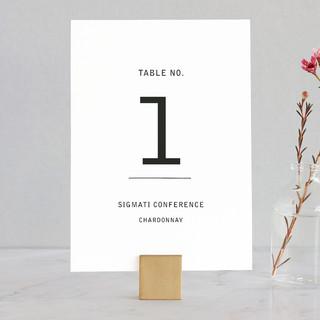 Feast Wedding Table Numbers