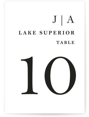 Sophistotype Table Numbers