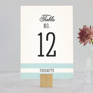 Winsome Wedding Table Numbers