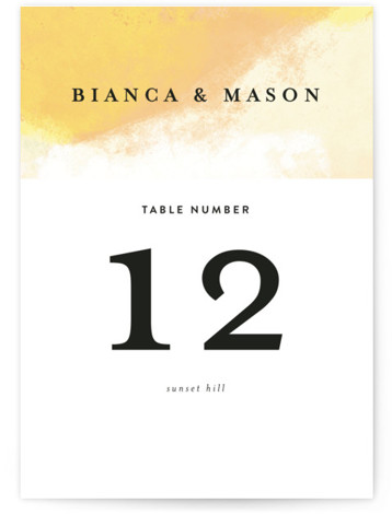 Upper Block Table Numbers