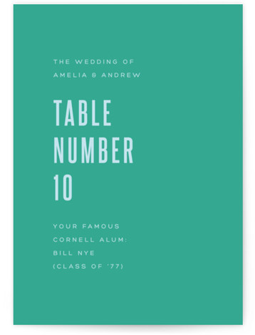 Offset Table Numbers