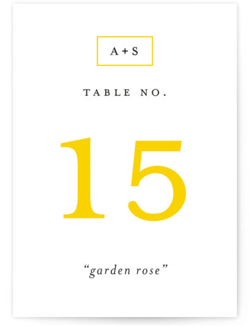 Elemental Table Numbers