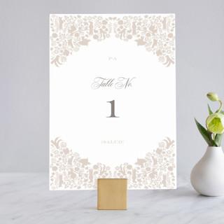 Hacienda Wedding Table Numbers
