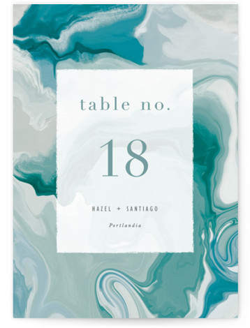 marble majesty Table Numbers