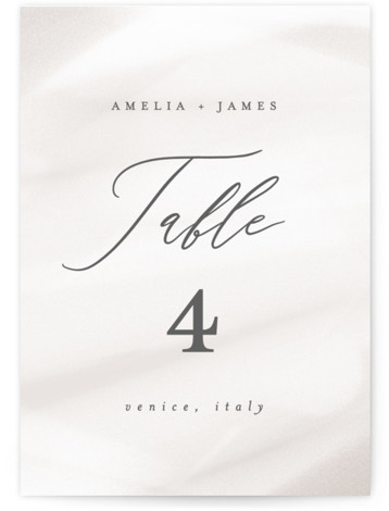 Overjoyed Table Numbers