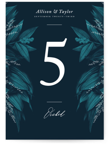 Moonlit Garden Table Numbers