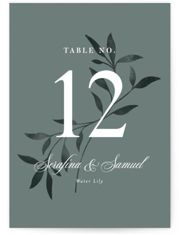 Serafina Table Numbers