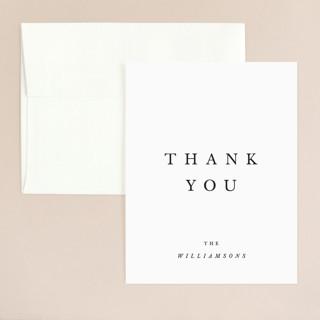 Johannis Thank You Card