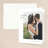 Foil-Pressed Thank You Card