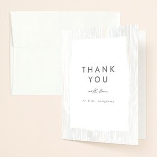 White Oak Gloss-Press™ Thank You Cards