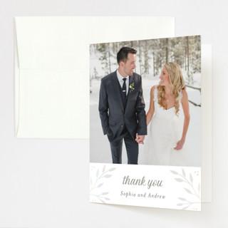 Vineyard Gloss-Press™ Thank You Cards