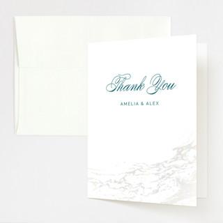 Classic Splash Gloss-Press™ Thank You Cards