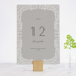 Confetti Frame Gloss-Press™ Table Numbers
