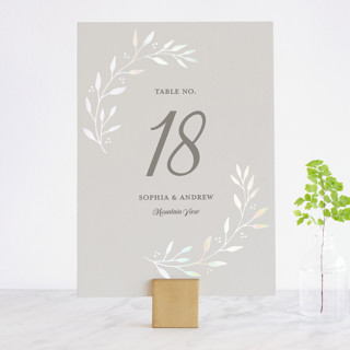 Vineyard Gloss-Press™ Table Numbers