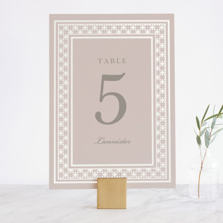 House of York Gloss-Press™ Table Numbers