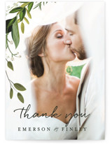 Vines of Green Thank You Postcards