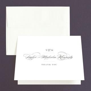 Charming Go Lightly Folded Thank You Card